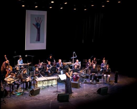 Diwan der Kontinente beim Jazzfest Berlin 2015. Foto: Hufner