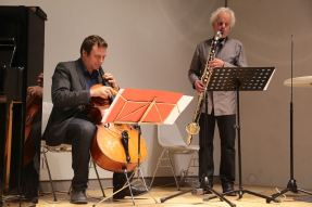 Eugen Bazijan, Michael Riessler. Foto Ralf Dombrowski