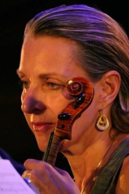 Violinistin Joyce Hammann