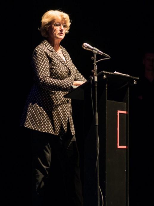 Monika Grütters eröffnet das Jazzfest 2016. Foto: Hufner