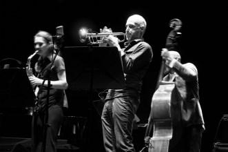 Angelika Niescier – Florian Weber Quintet. Angelika Niescier. Foto: Petra Basche