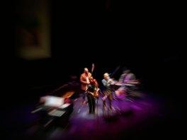 Angelika Niescier – Florian Weber Quintet. Foto: Huflaikhan