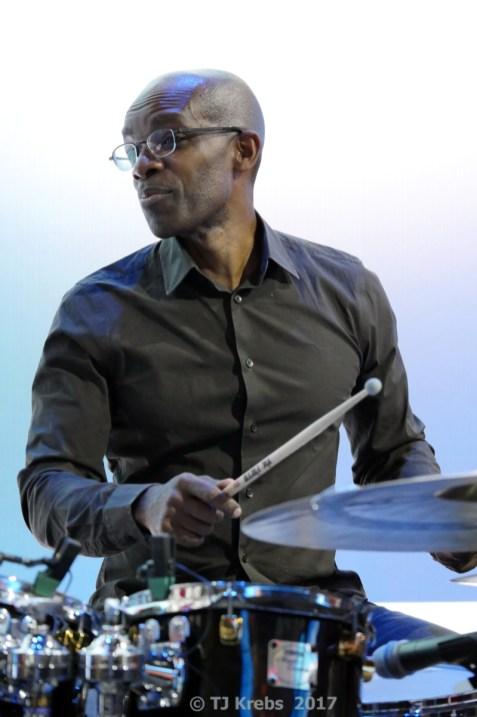 Drummer Rudy Royston. Foto: Thomas J. Krebs