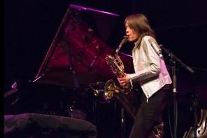 European Jazz Meeting: Céline Bonacina, Frankreich. Foto: Susanne van Loon