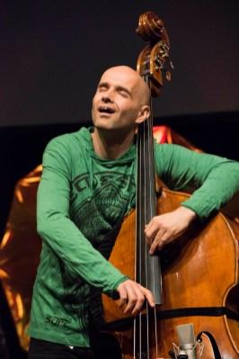 German Jazz Expo: Peter Cudek vom Trio Elf. Foto: Susanne van Loon