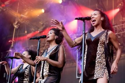 Gesangsfraktion von Disko Nr. 1. Foto: Susanne van Loon