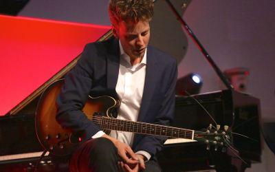 Renier Baas (g), Princess Discombobulatix, Südtirol Jazzfestival Alto Adige, Bozen, Messe, Foto Ralf Dombrowski