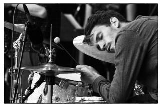 Gourmet-Drummer Max Andrzjewski. Foto: Petra Basche