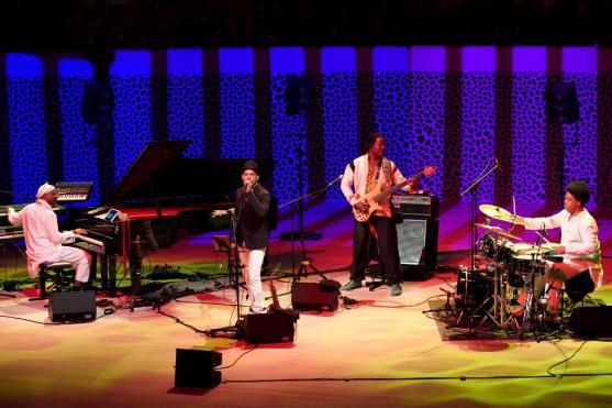 Omar Sosa Quarteto AfroCubano. Foto: Thomas J. Krebs