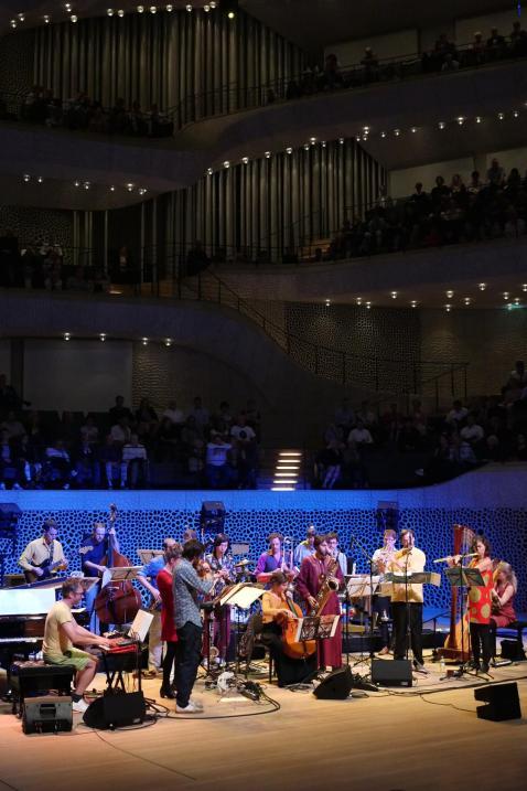 Andromeda Mega Express Orchestra.Foto: Thomas J. Krebs