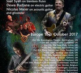+++ news +++ 38. Internationales Jazzfestival Saalfelden +++ Meier-Budjana Group Europe Tour 2017 +++ Programm für den Jazz Club Minden +++
