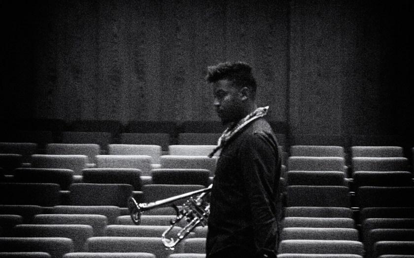 Christian Scott beim Berliner Jazzfest 2014. Foto: Hufner