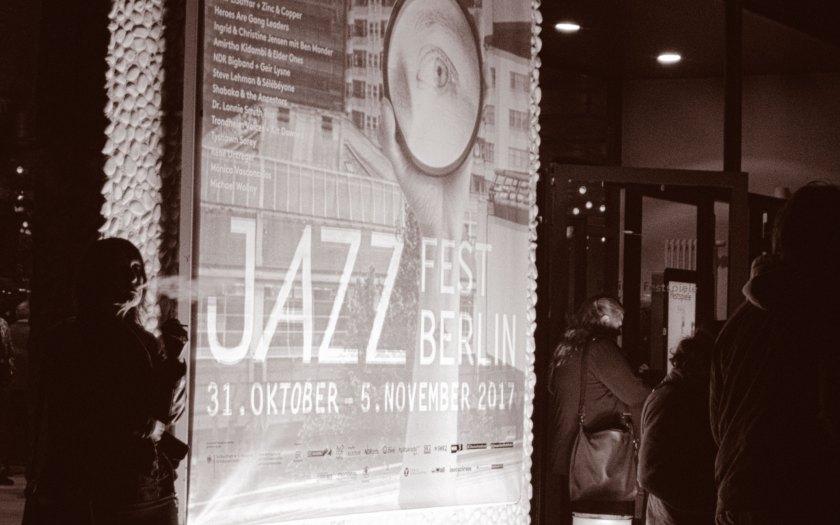 Jazzfest Berlin 2017. Foto: Martin Hufner