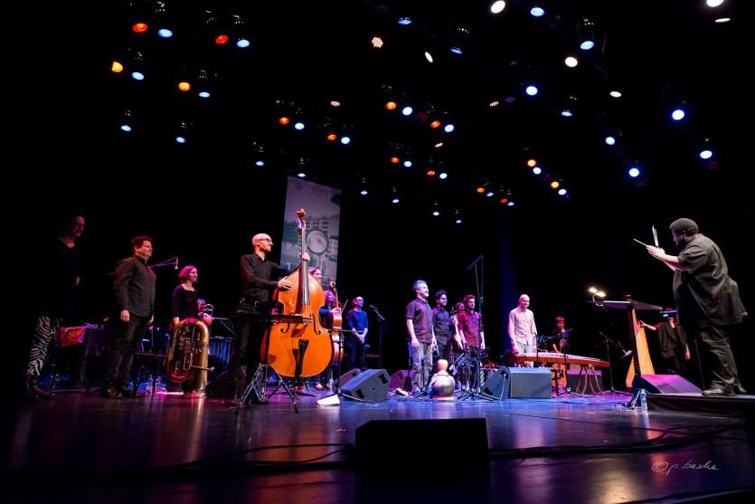 Tyshawn Sorey mit Ensemble. Foto: Petra Basche