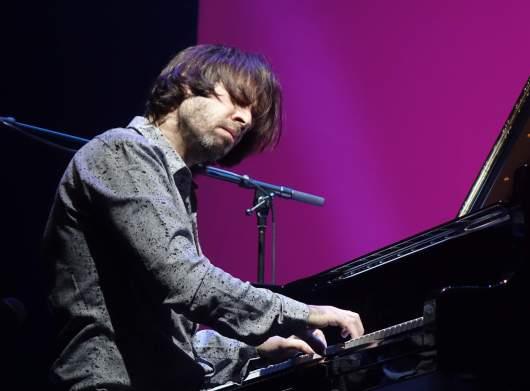 Der gebürtige Ukrainer und Wahl-New Yorker Vadim Neselovskyi am Klavier. Foto: Stefan Pieper