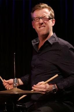 Schlagzeuger Morten Lund. Foto: Thomas J. Krebs