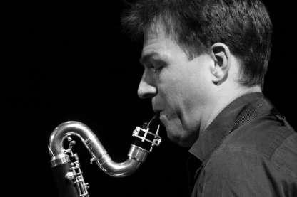Klaus Gesing am Saxophon. Foto: Thomas J. Krebs