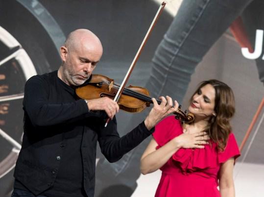 Andreas Engler und Marcela Arroyo. Foto: Susanne van Loon