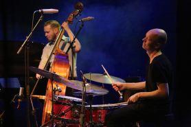 Antti Lötjönen und Olavi Louhivuori, Ilmiliekki Quartet. Foto: R. Dombrowski