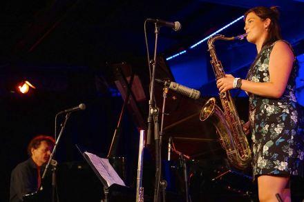 Elisabeth Lid Trøen, Trøen/Arnesen Quartet auf dem Natjazz. Foto: R. Dombrowski