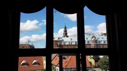 Blick aus dem Theater Ystad. Foto: Roland Spiegel