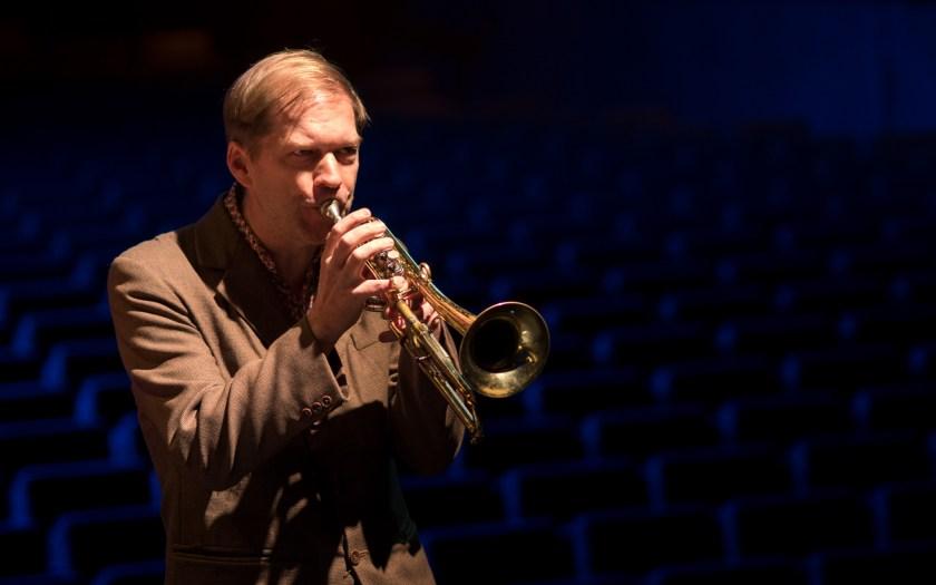 Jazzpreis Berlin an Trompeter Axel Dörner. Foto: Hufner Jazzpreis Berlin an Trompeter Axel Dörner. Foto: Hufner