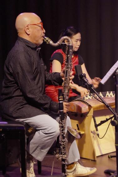 Kazutoki Umezu und Naoko Kikuchi