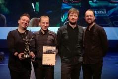 Obara Quartett bei der Preisverleihung. Alle Fotos: Thomas J. Krebs