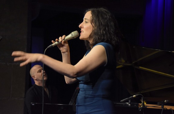 Lisa Bassenge mit Jacob Karlzon