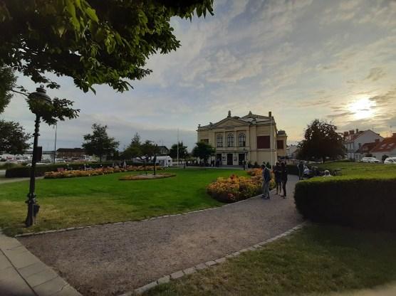 Hauptspielort des Festivals: Das Theater von Ystad