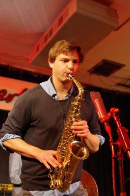 Bandleader MaximilianYousef. Foto: Godehard Lutz