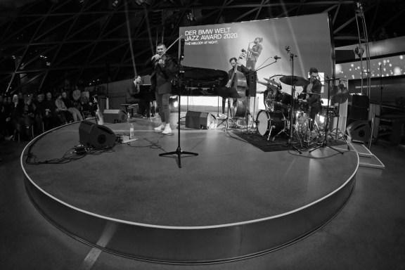 Live im Doppelkegel: Baldych Quartett. Foto: TJ Krebs