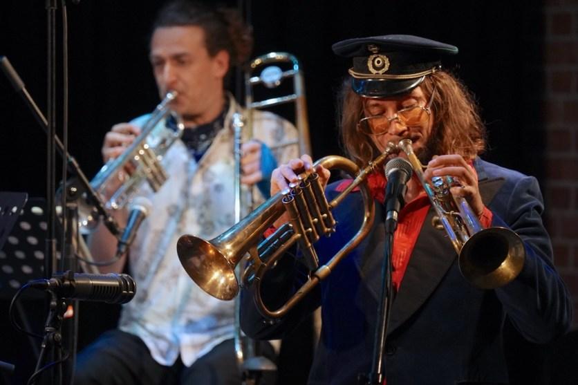 Matthias Schriefl's Six Alps And Jazz, Unterfahrt Stream Concert, Photo (c) Ralf Dombrowski