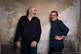 Christophe Monniot & Didier Ithursarry. Bild: Charpenel