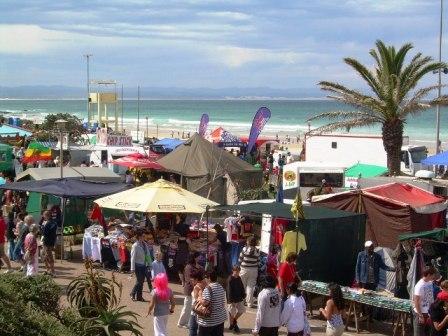 Shell festival stalls