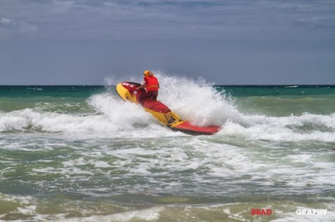NSRI J Bay wave runner