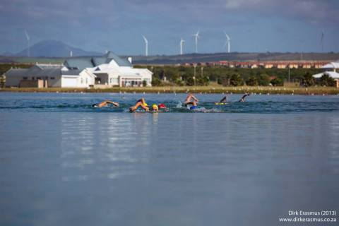 Marina Martinique is the venue of the Metsi Open Water Swim Series. Photo: Dirk Erasmus