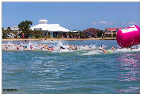 The start at Marina Martinique. Photo: Clive Wright