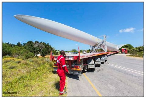 wind turbine transport
