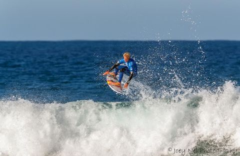 Dylan Lightfoot in action. Photo: Joey Nel