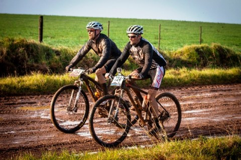 Conditions were not easy for the JBay MTB Open. Photo: Jazz Kuschke