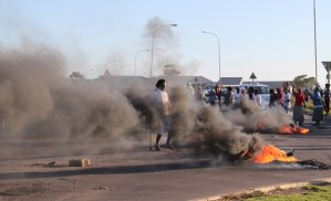 Jeffreys bay protest