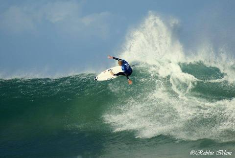 Mick Fanning at SUpertubes.