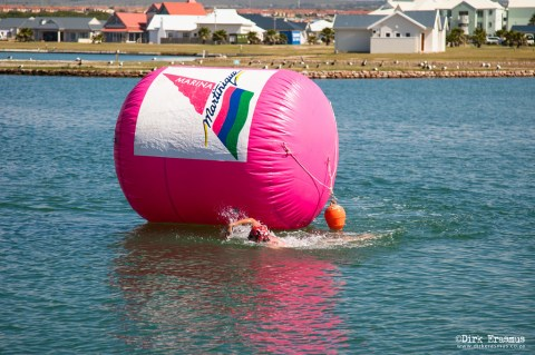 Marina Martinique is the home of open water swimming in the Eastern Cape