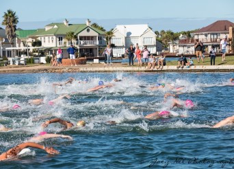 marina mile open water swimming jeffreys bay