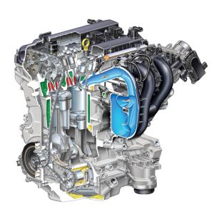2007 Ford Fusion 23l 4cylinder Duratec Engine  Picture  Pic  Image