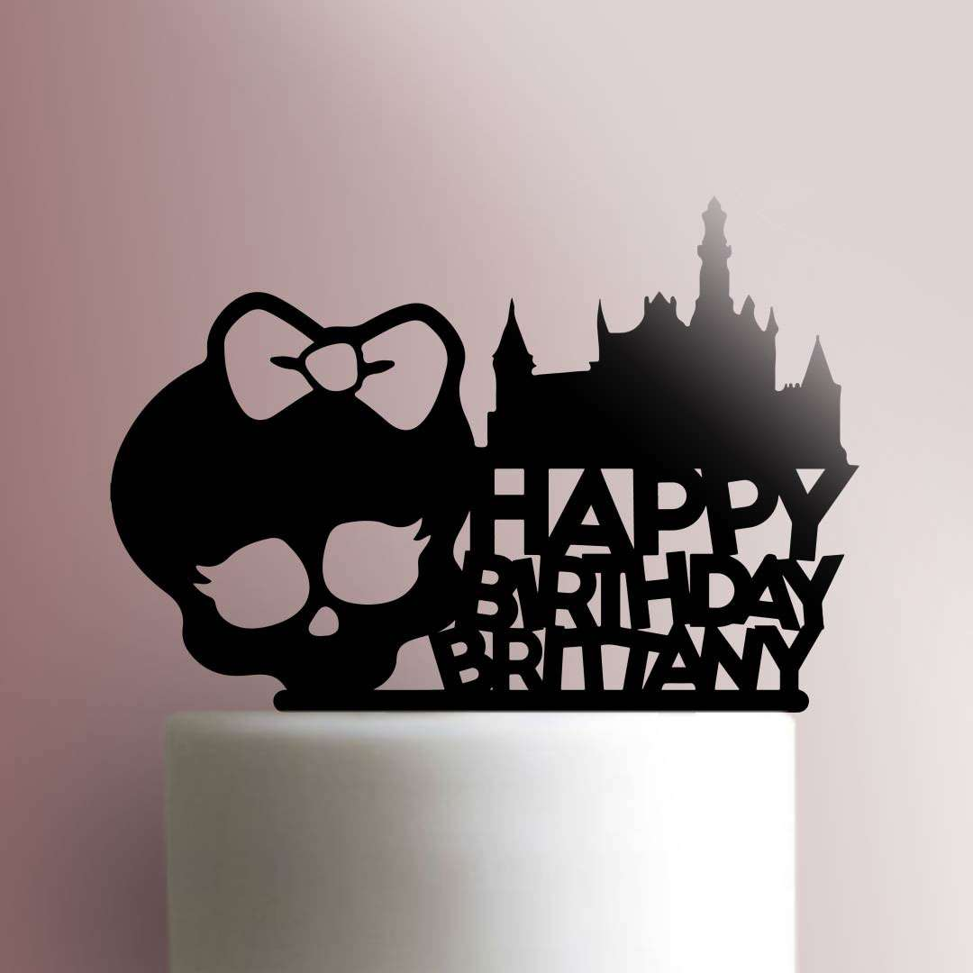 Custom Monster High Happy Birthday 100 Cake Topper Jb Cookie Cutters