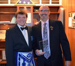 Roy Elliott recognize as Exemplar for 2015