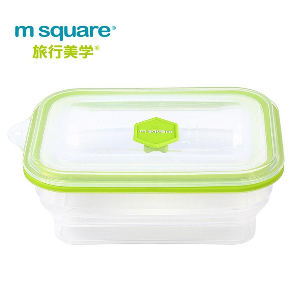 m square 矽膠野餐保鮮盒(可微波)