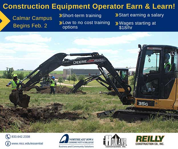 Construction Equipment Operator Earn & Learn